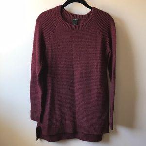 Cranberry sweater dress/tunic